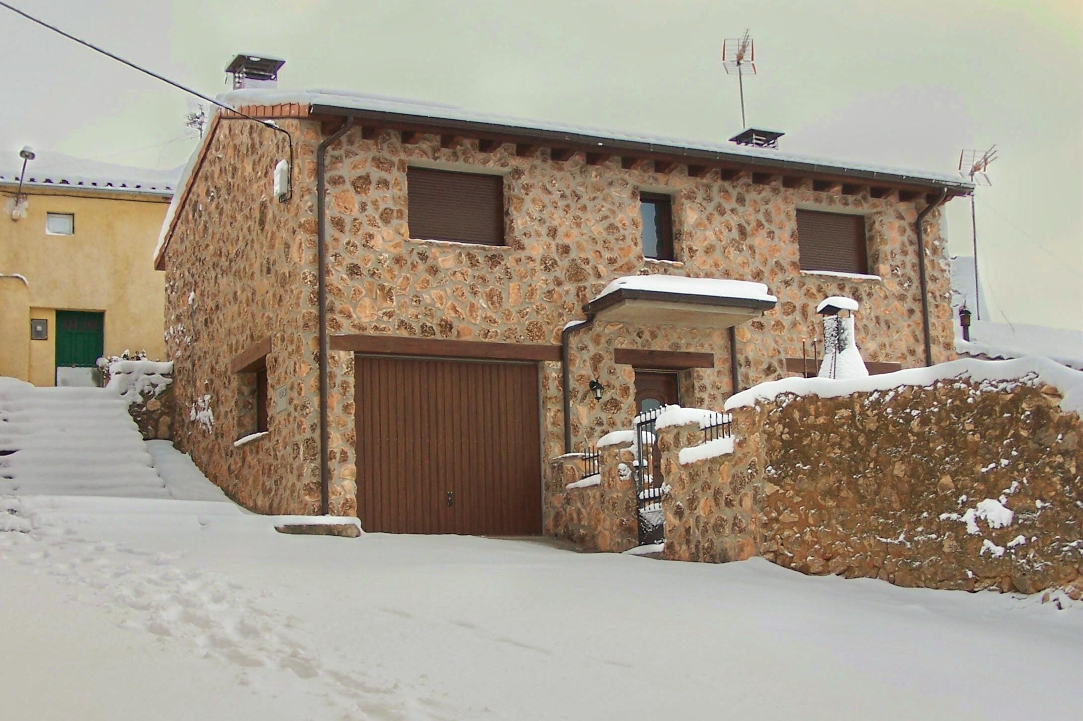 fachadas de casas rurales